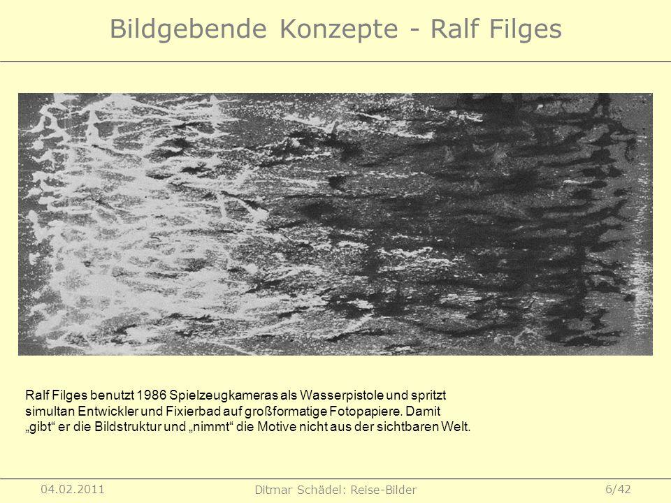 Bildgebende Konzepte - Ralf Filges