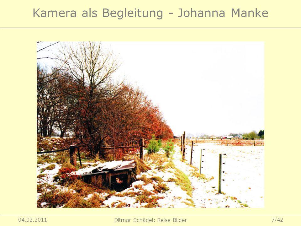Kamera als Begleitung - Johanna Manke