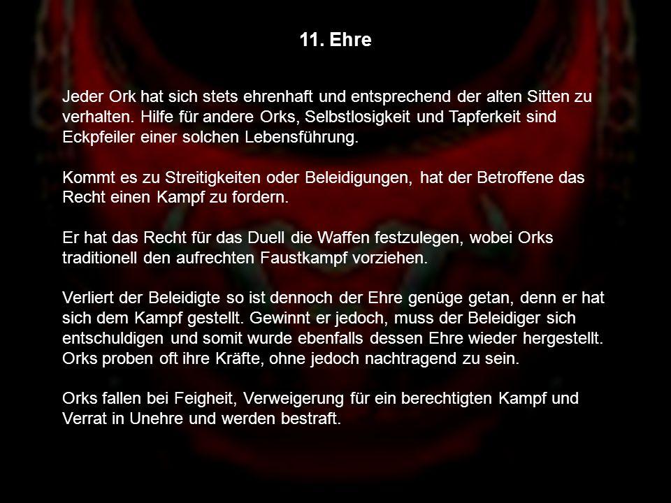 11. Ehre