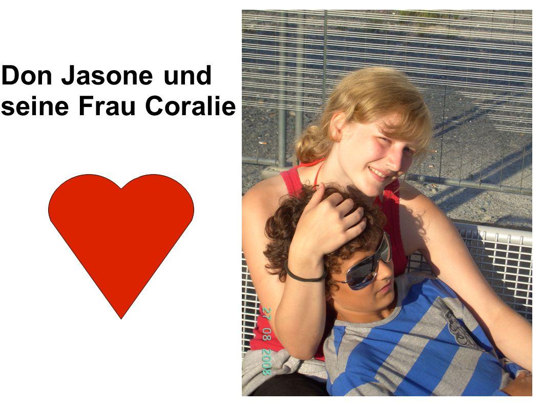 Don Jasone und seine Frau Coralie