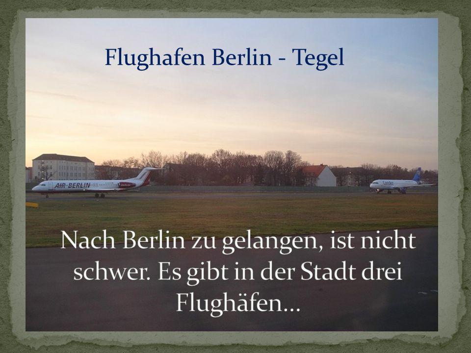 Flughafen Berlin - Tegel