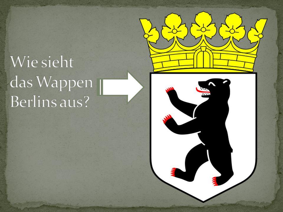 Wie sieht das Wappen Berlins aus