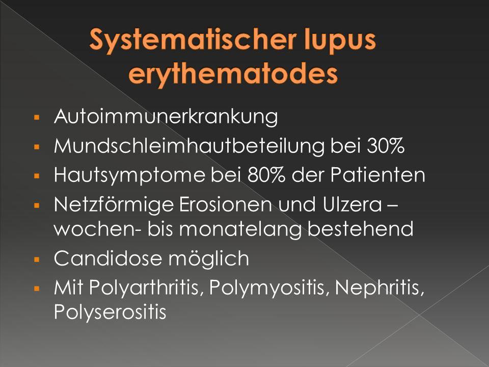 Systematischer lupus erythematodes