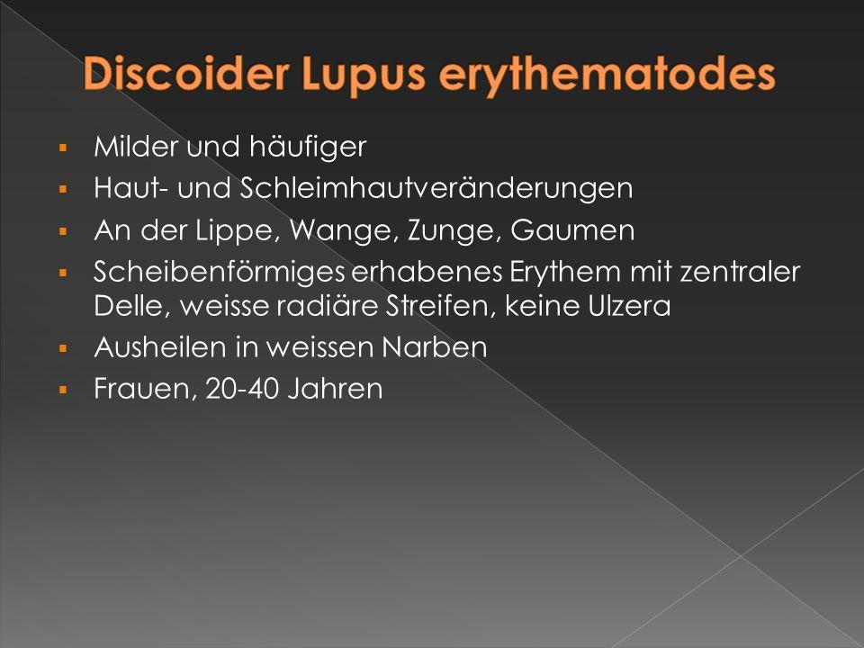 Discoider Lupus erythematodes