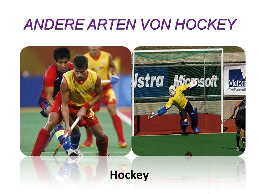 ANDERE ARTEN VON HOCKEY
