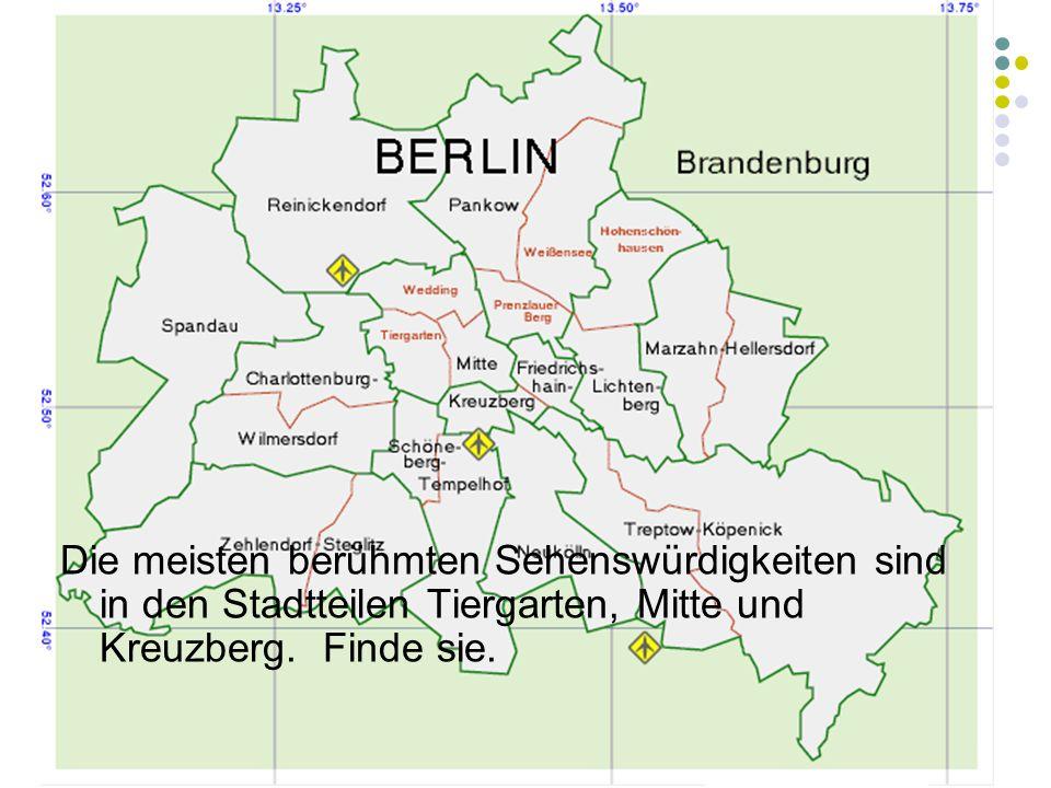 Es gibt drei Flughäfen in Berlin.