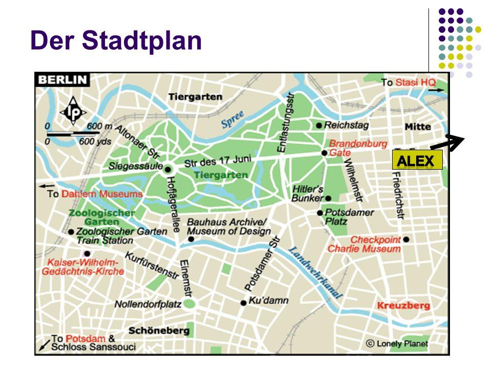 Der Stadtplan Alex