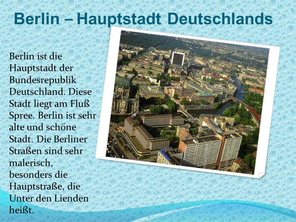Berlin – Hauptstadt Deutschlands