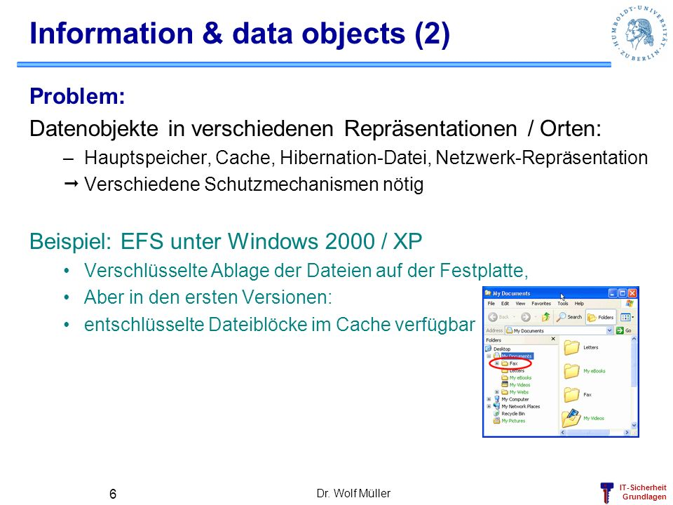 Information & data objects (2)