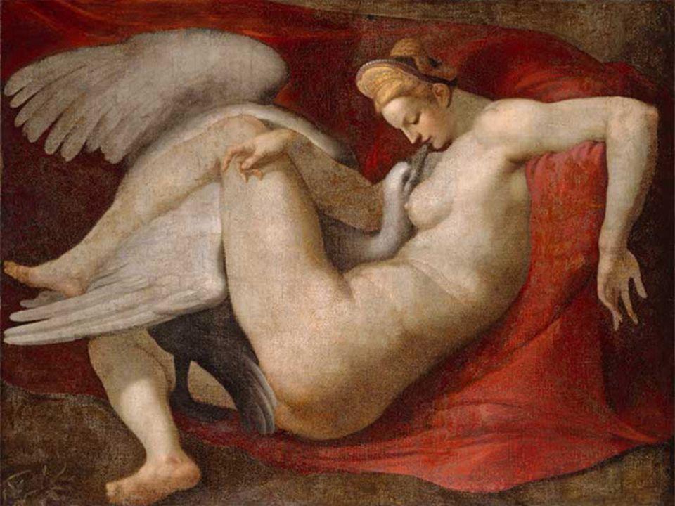 Malerei Leda und der Schwan Das Jüngste Gericht Die Erschaffung Adams