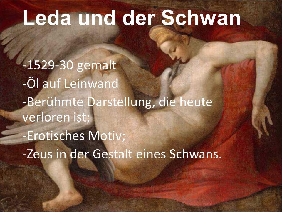 Leda und der Schwan