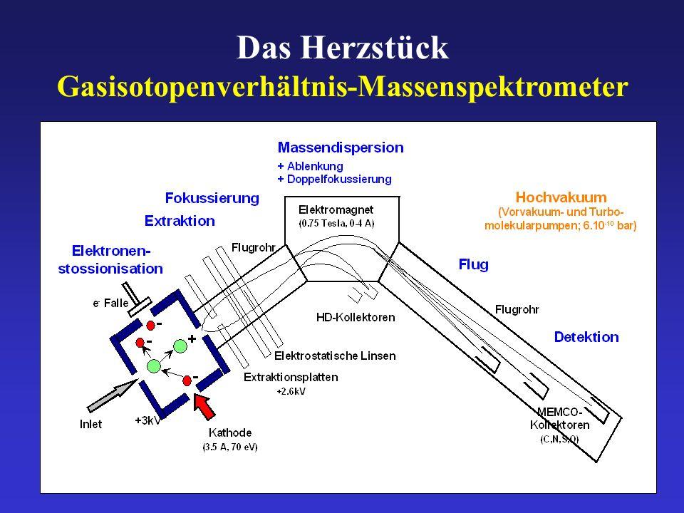Gasisotopenverhältnis-Massenspektrometer