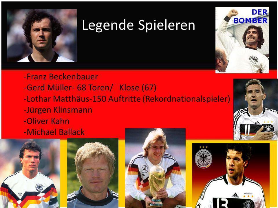 Legende Spieleren -Franz Beckenbauer