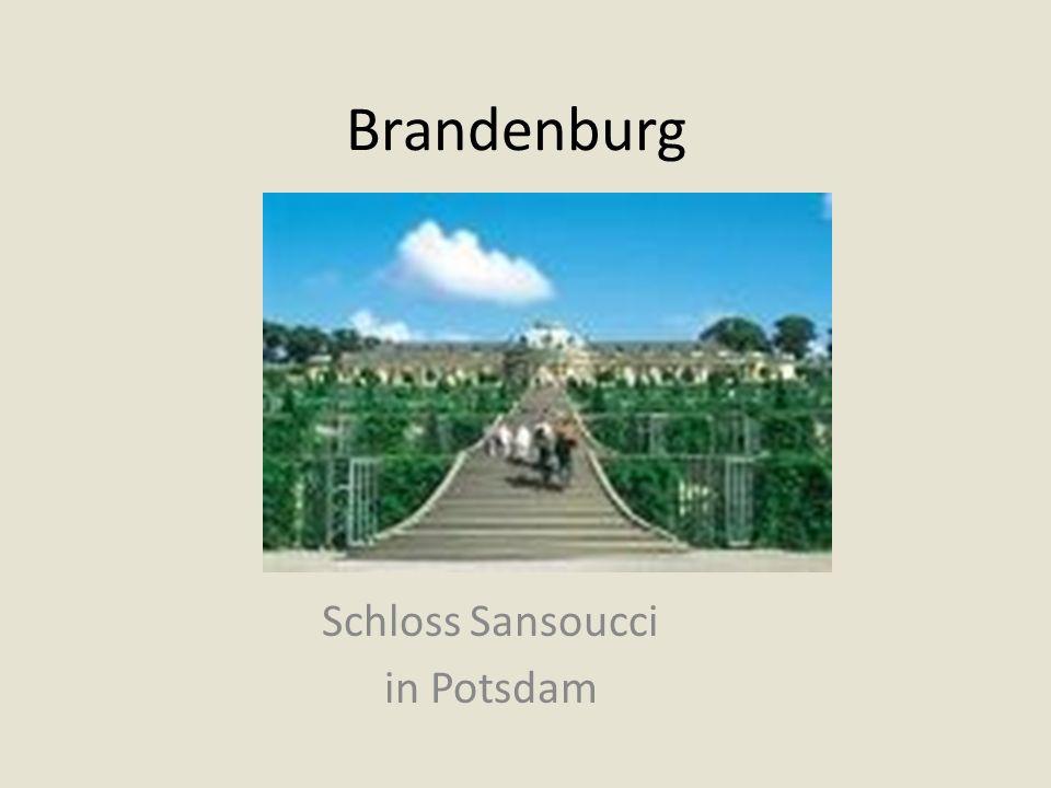 Schloss Sansoucci in Potsdam
