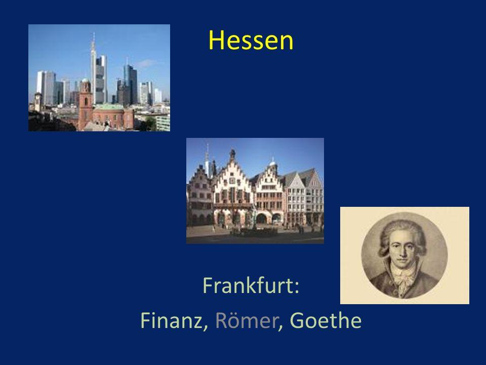 Frankfurt: Finanz, Römer, Goethe