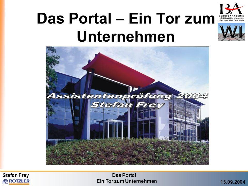 Das Portal – Ein Tor zum Unternehmen
