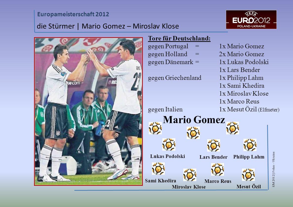 Mario Gomez die Stürmer | Mario Gomez – Miroslav Klose