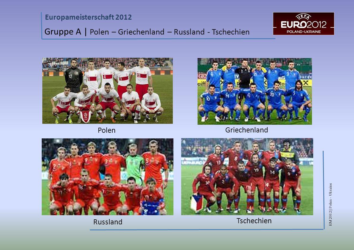 Gruppe A | Polen – Griechenland – Russland - Tschechien