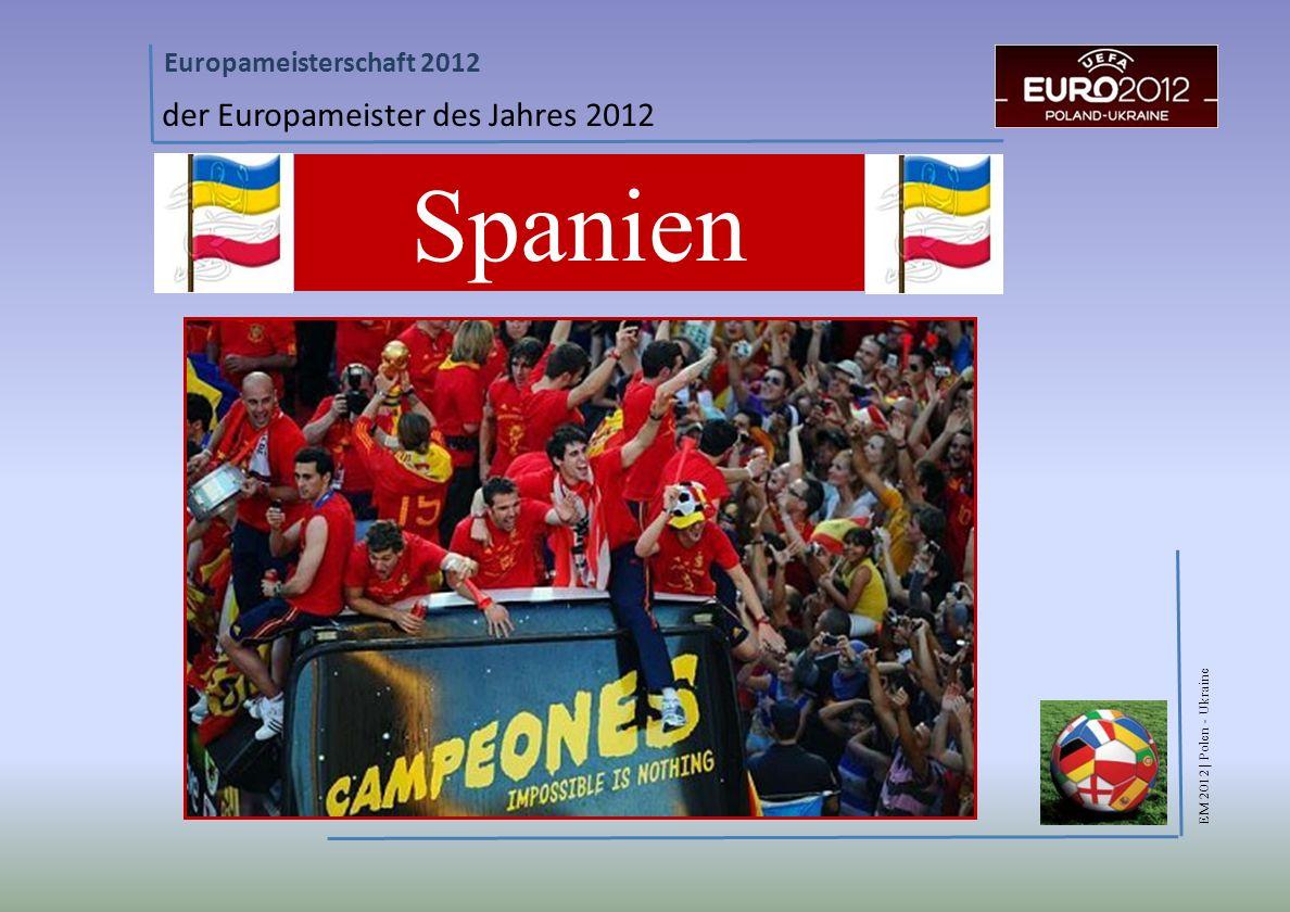 der Europameister des Jahres 2012