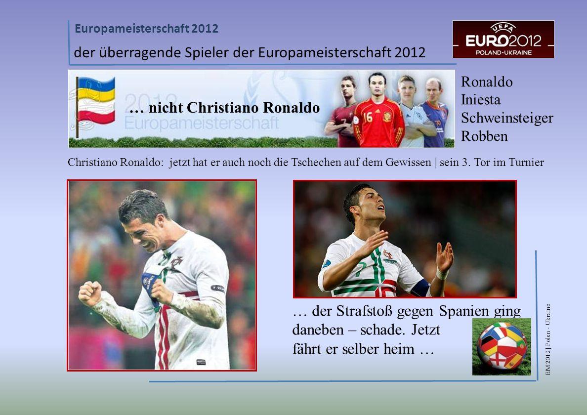 der überragende Spieler der Europameisterschaft 2012