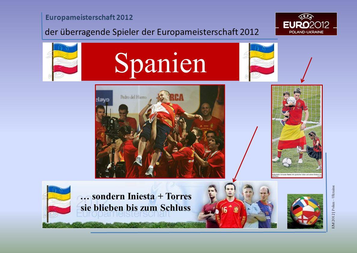 … sondern Iniesta + Torres sie blieben bis zum Schluss