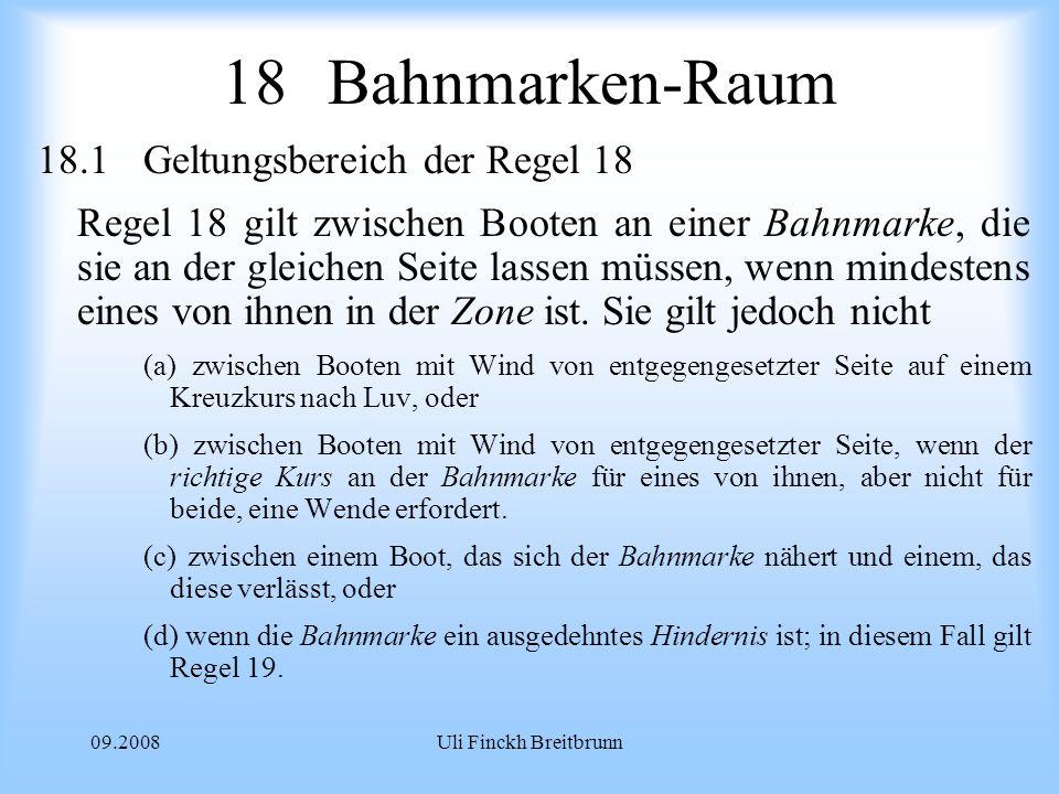 18 Bahnmarken-Raum 18.1 Geltungsbereich der Regel 18