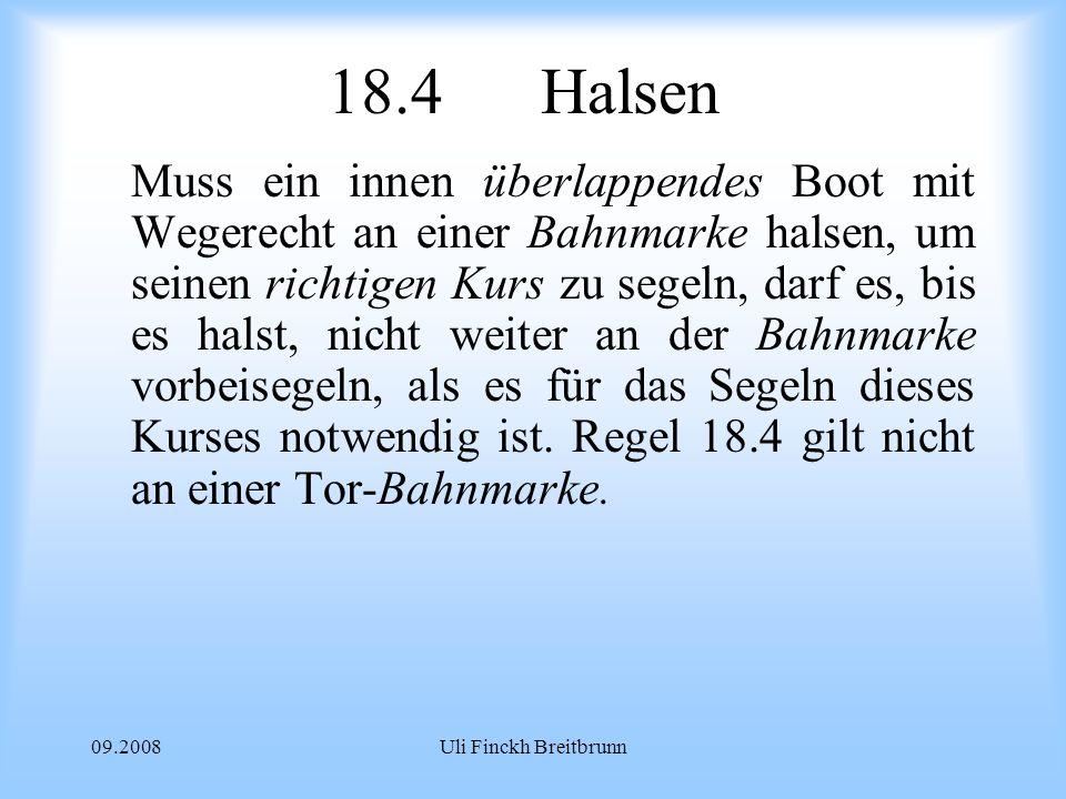 18.4 Halsen