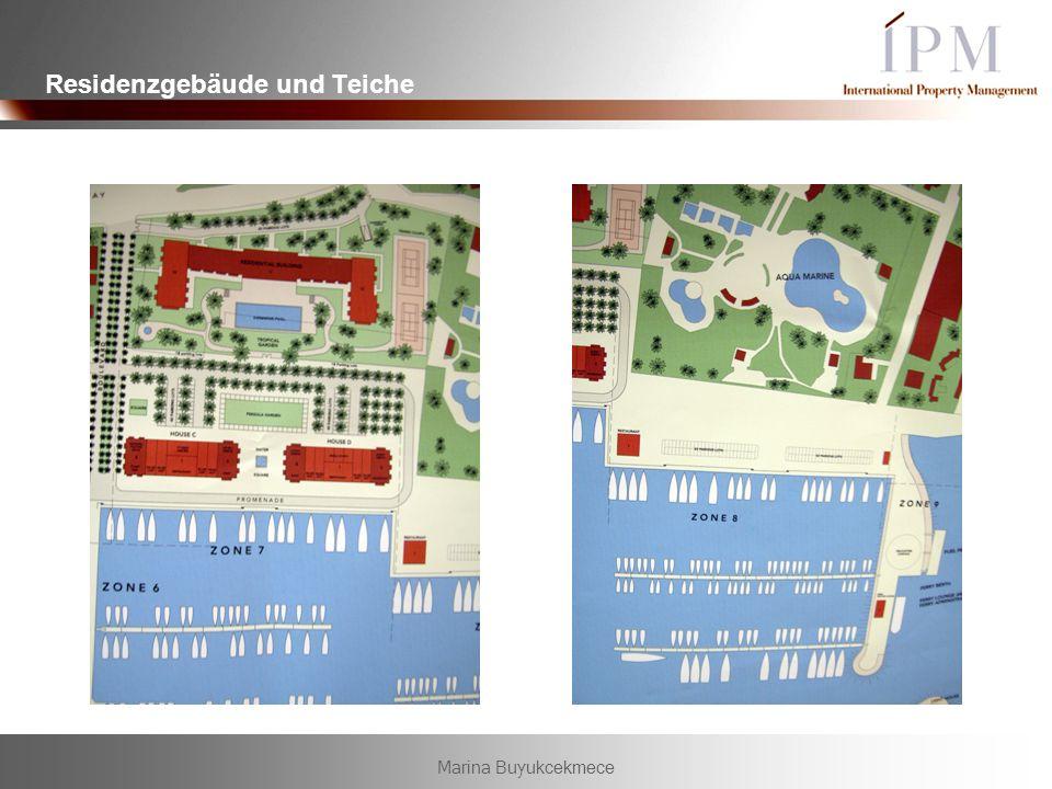 Residenzgebäude und Teiche