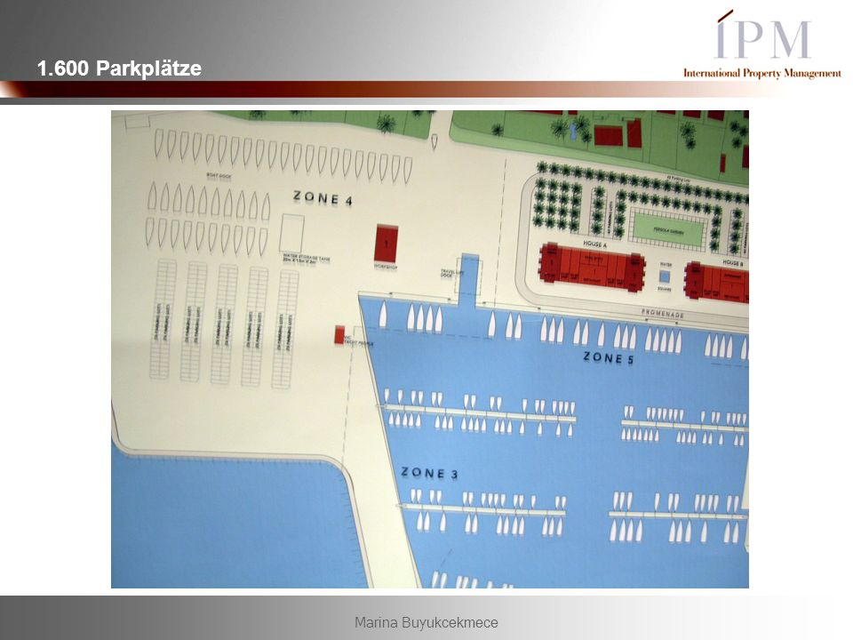 1.600 Parkplätze Marina Buyukcekmece