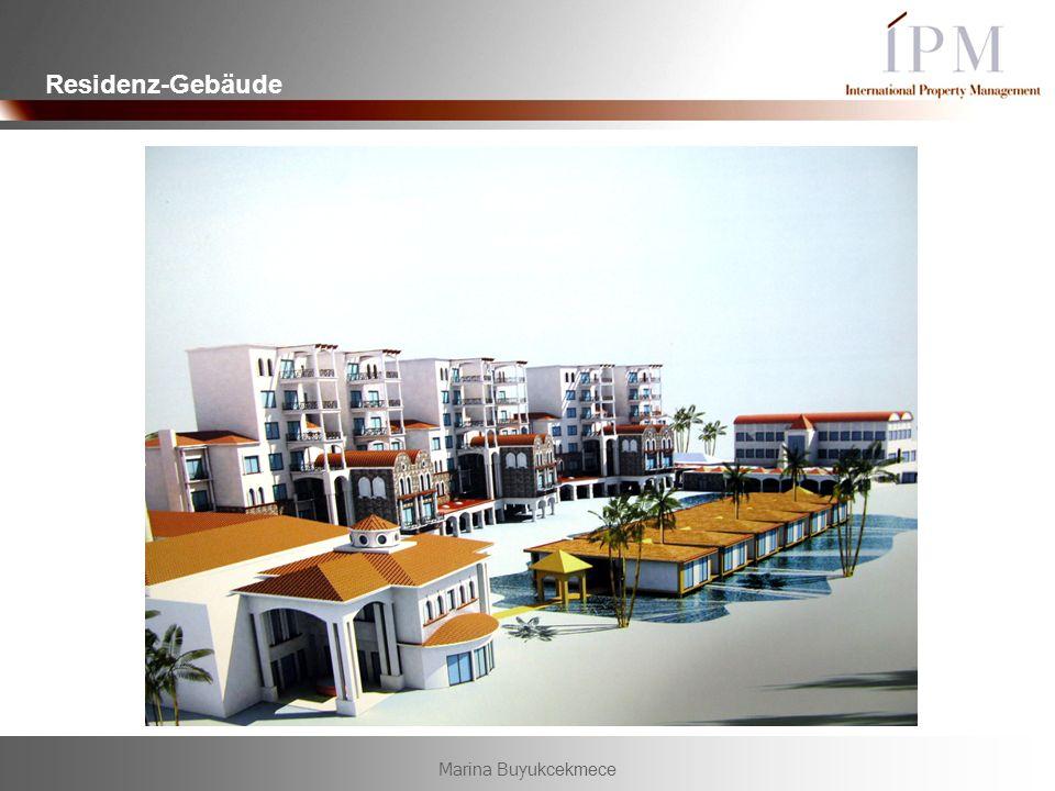 Residenz-Gebäude Marina Buyukcekmece