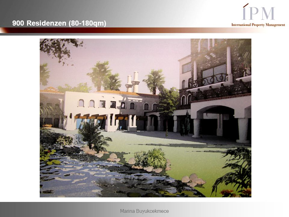 900 Residenzen (80-180qm) Marina Buyukcekmece