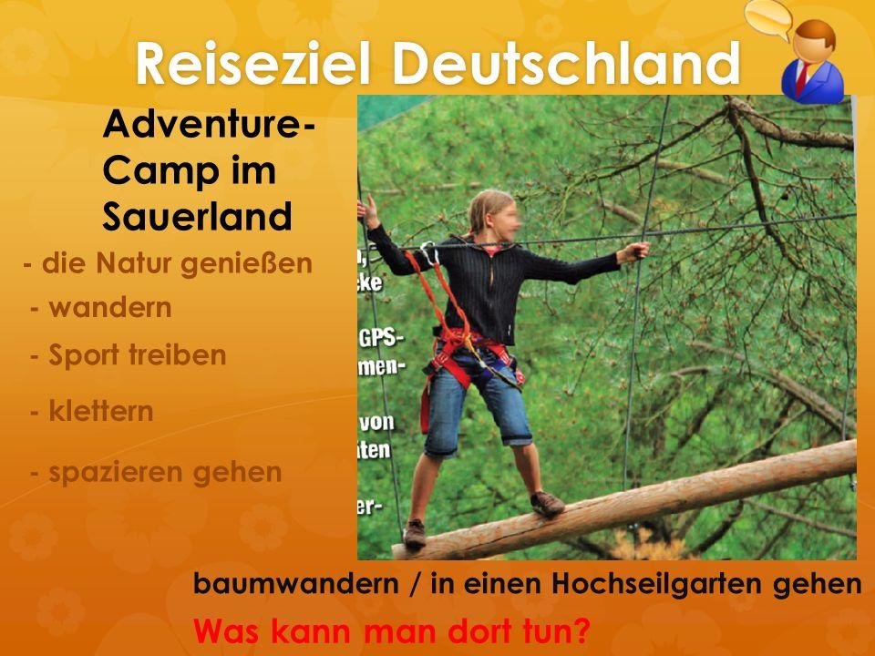 Reiseziel Deutschland
