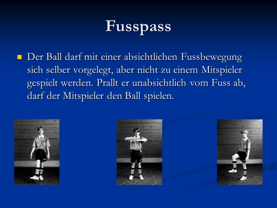 Fusspass