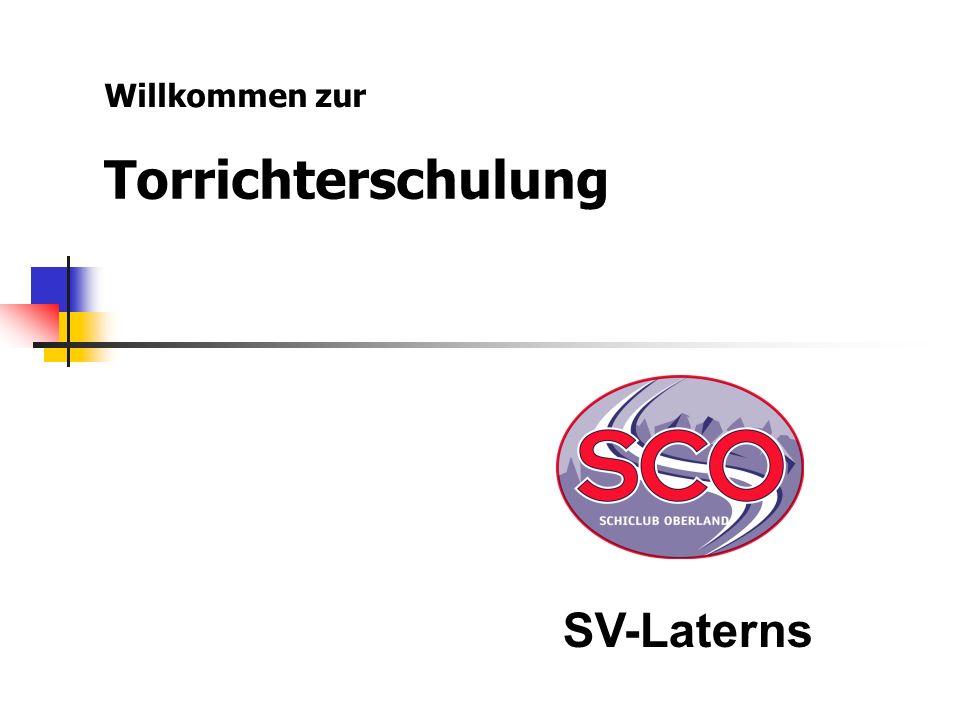 Willkommen zur Torrichterschulung SV-Laterns