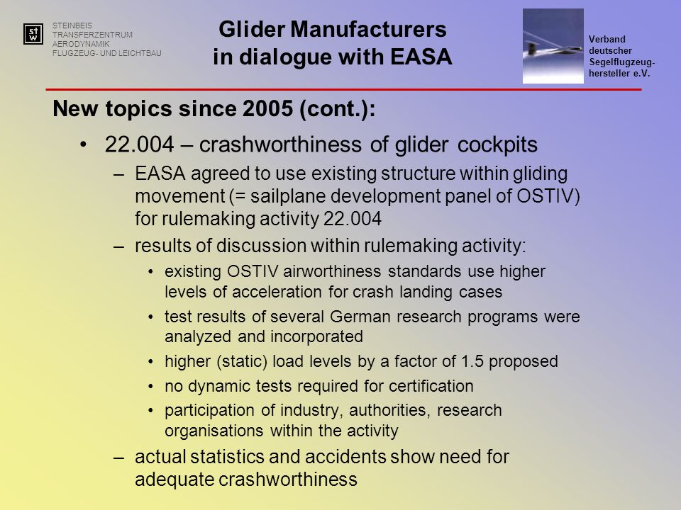 New topics since 2005 (cont.):