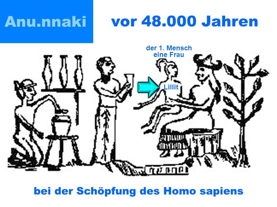 bei der Schöpfung des Homo sapiens