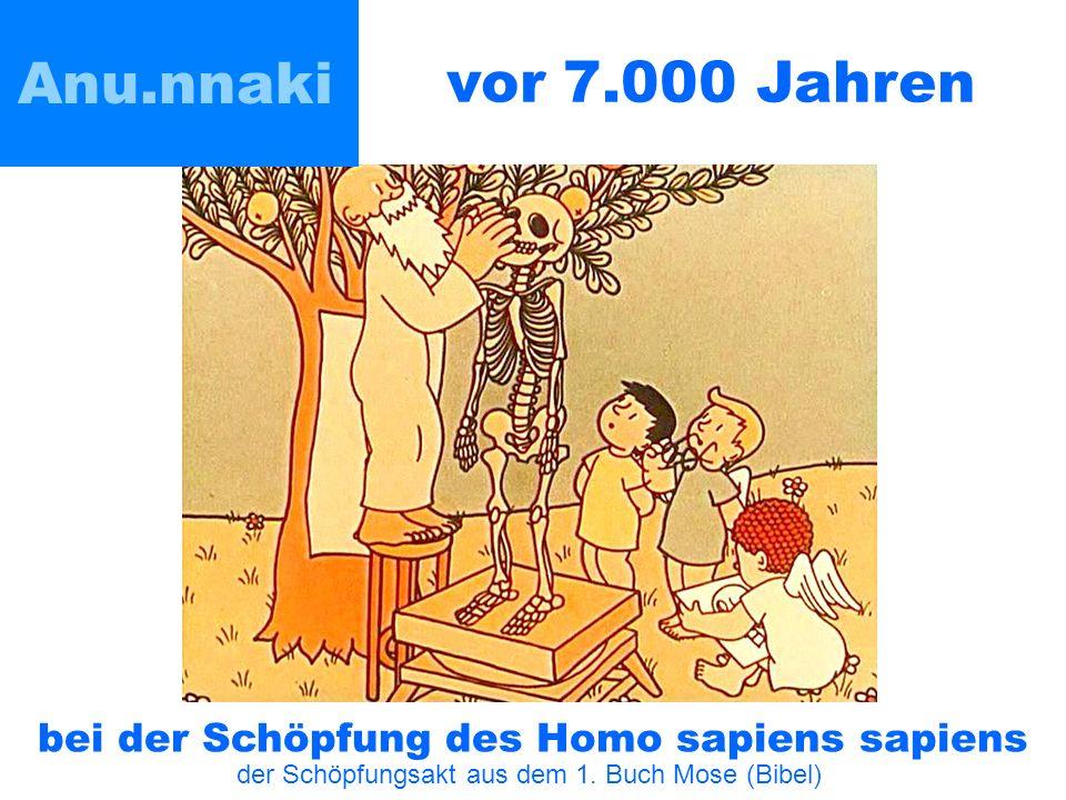 Anu.nnaki vor 7.000 Jahren bei der Schöpfung des Homo sapiens sapiens