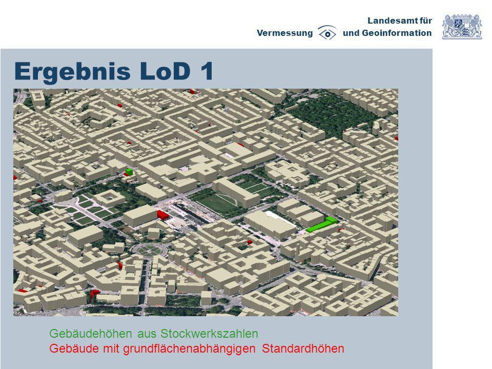 Ergebnis LoD 1 Gebäudehöhen aus Stockwerkszahlen