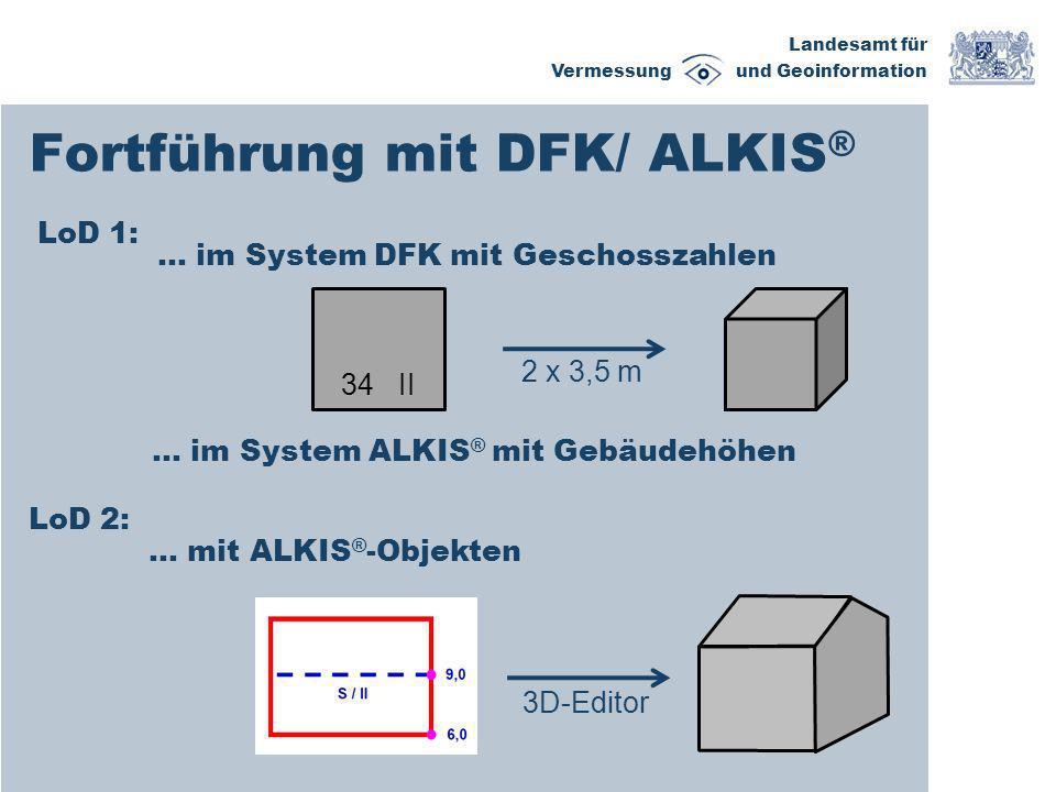 Fortführung mit DFK/ ALKIS®