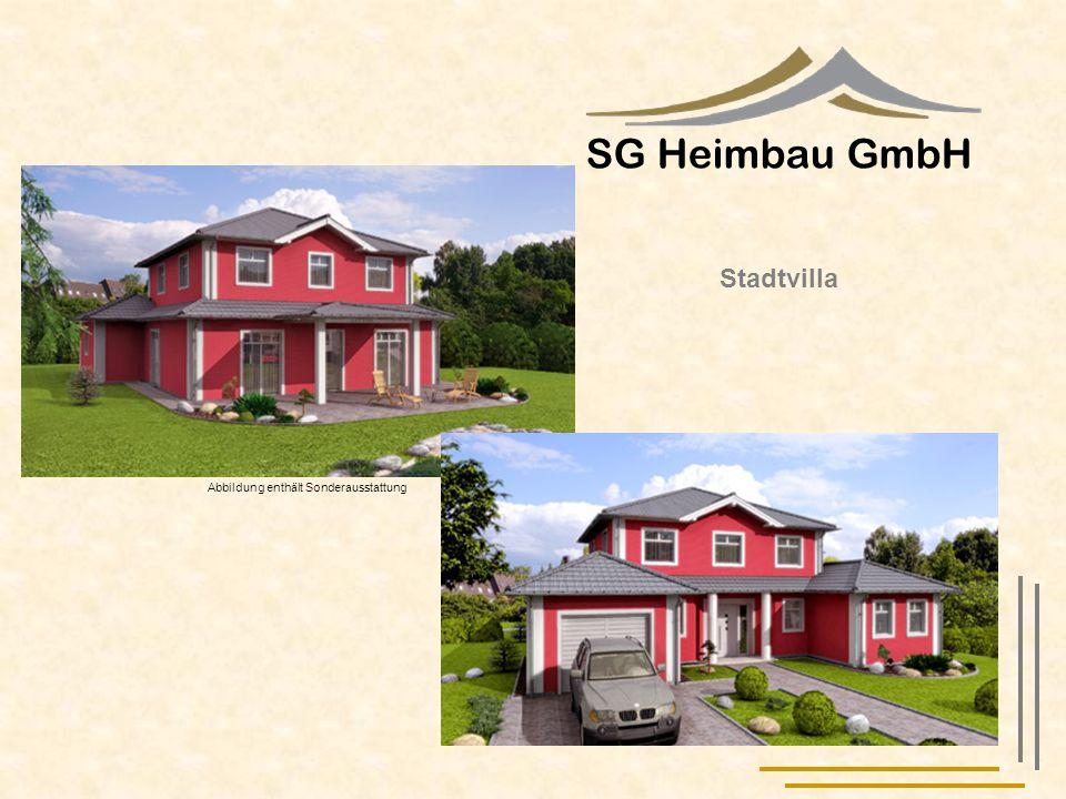 SG Heimbau GmbH Stadtvilla Abbildung enthält Sonderausstattung