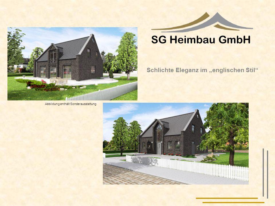 """SG Heimbau GmbH Schlichte Eleganz im """"englischen Stil"""