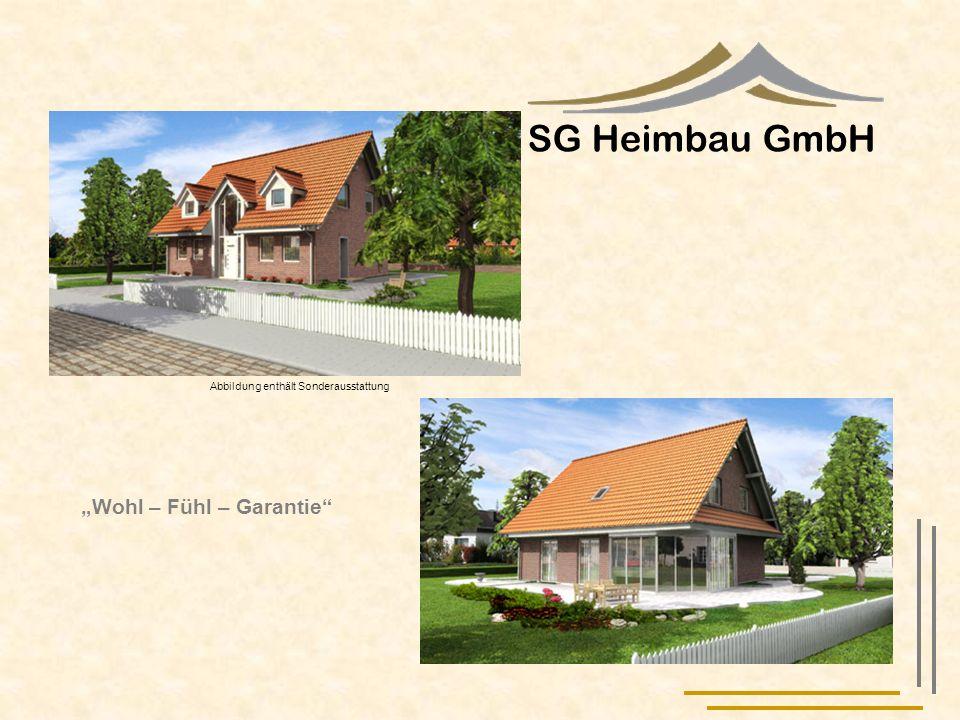 """SG Heimbau GmbH """"Wohl – Fühl – Garantie"""