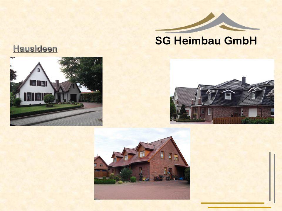 SG Heimbau GmbH Hausideen