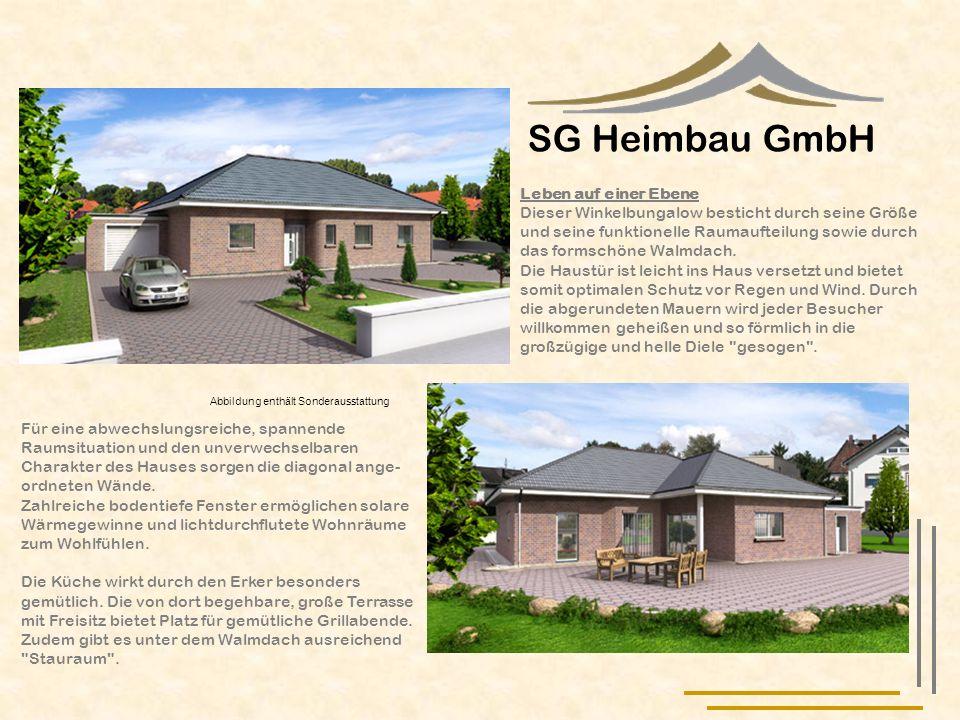 SG Heimbau GmbH Leben auf einer Ebene