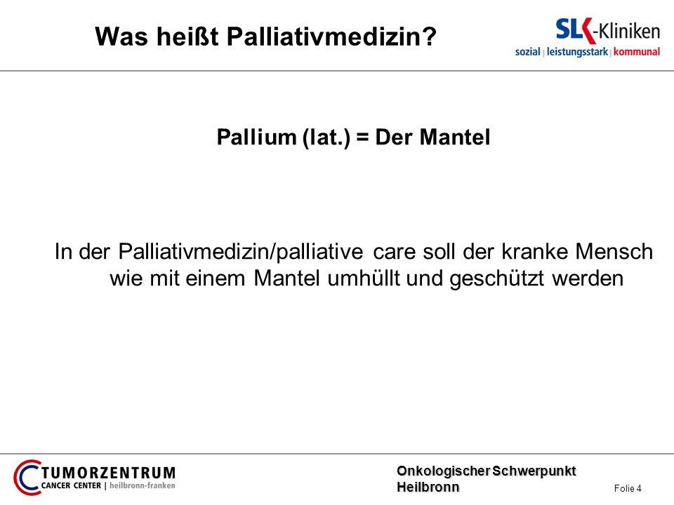 Was heißt Palliativmedizin