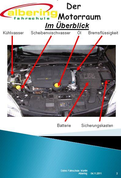 Der Motorraum Im Überblick 2