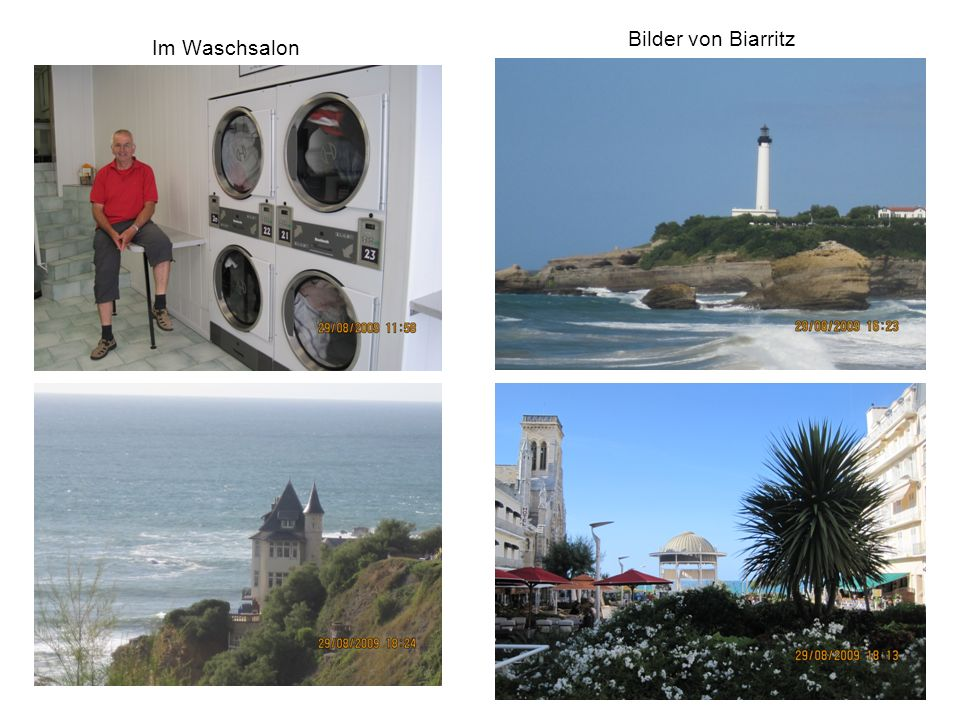 Bilder von Biarritz Im Waschsalon