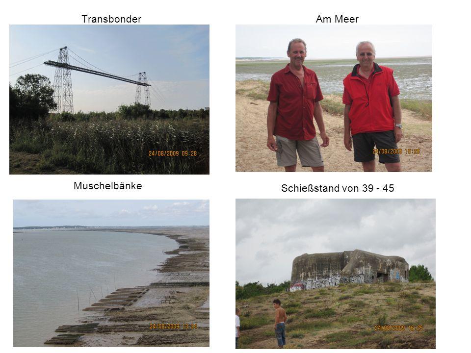 Transbonder Am Meer Schießstand von 39 - 45 Muschelbänke