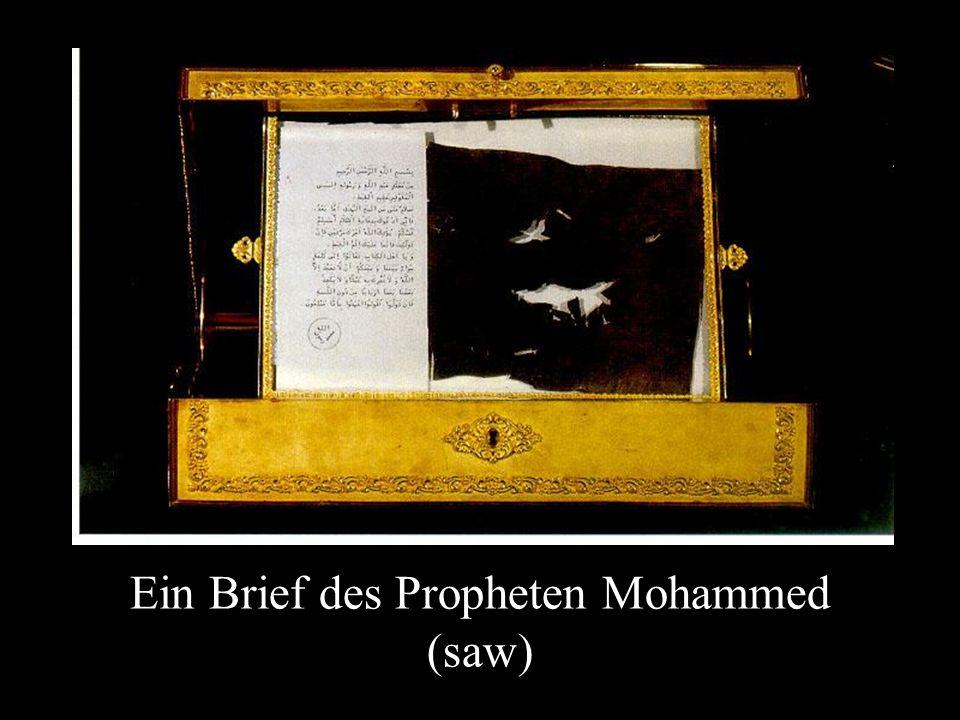 Ein Brief des Propheten Mohammed (saw)