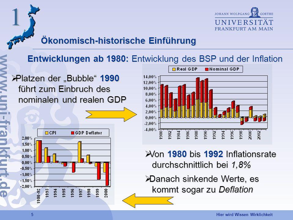 1 Ökonomisch-historische Einführung